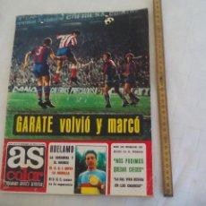 Coleccionismo deportivo: REVISTA AS COLOR. NUM Nº 82, 1972, CON POSTER DE ASENSI. HUELAMO, JOSE LEGRA... Lote 171369760