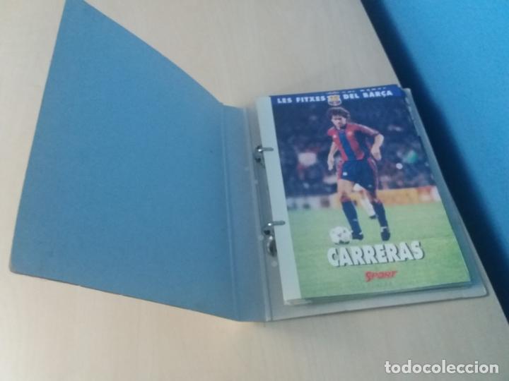 Coleccionismo deportivo: LES FITXES DEL BARÇA COMPLETO 39 FITXES - SPORT - CATALAN - Foto 2 - 171668682
