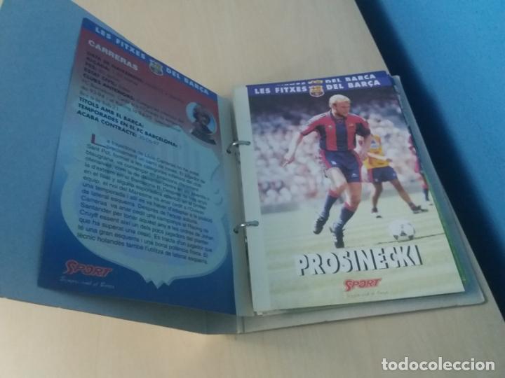 Coleccionismo deportivo: LES FITXES DEL BARÇA COMPLETO 39 FITXES - SPORT - CATALAN - Foto 3 - 171668682