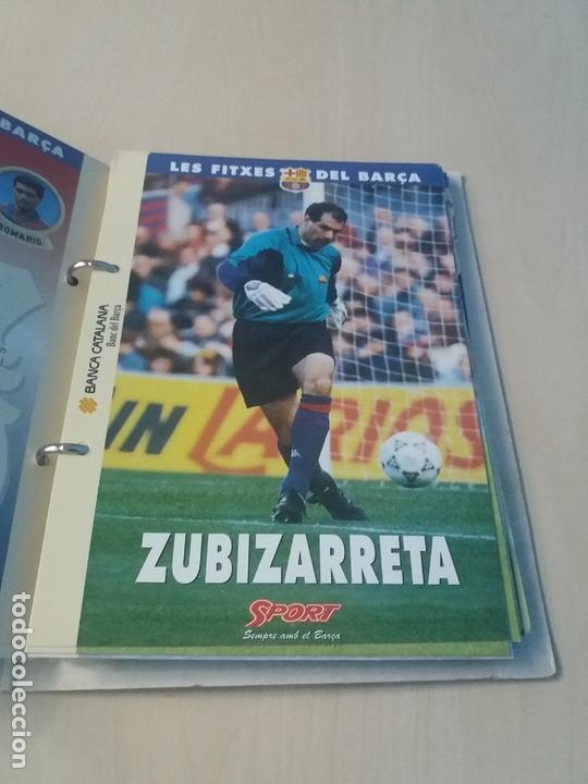 Coleccionismo deportivo: LES FITXES DEL BARÇA COMPLETO 39 FITXES - SPORT - CATALAN - Foto 5 - 171668682