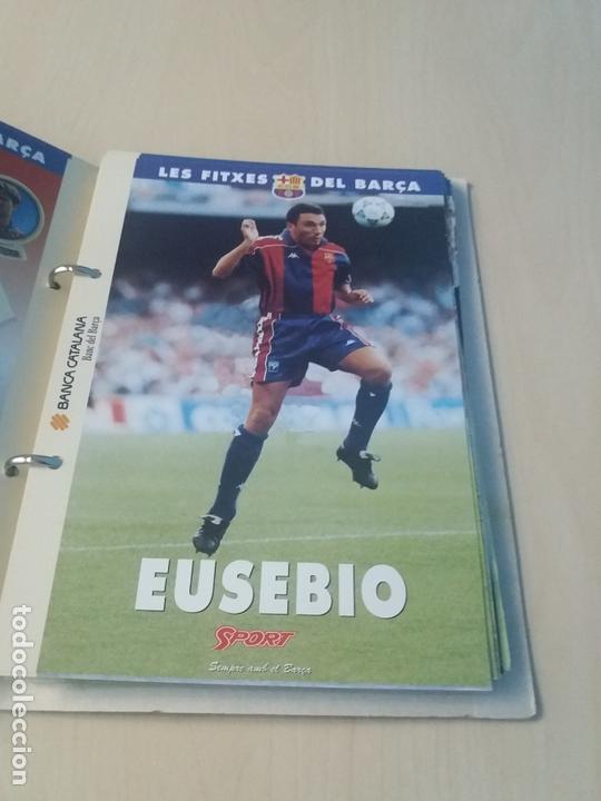 Coleccionismo deportivo: LES FITXES DEL BARÇA COMPLETO 39 FITXES - SPORT - CATALAN - Foto 7 - 171668682