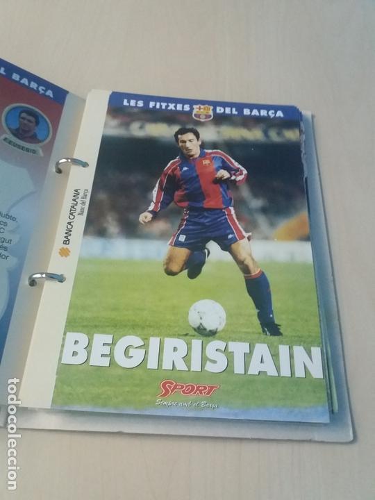 Coleccionismo deportivo: LES FITXES DEL BARÇA COMPLETO 39 FITXES - SPORT - CATALAN - Foto 8 - 171668682