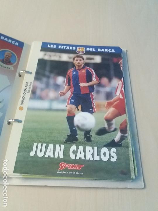 Coleccionismo deportivo: LES FITXES DEL BARÇA COMPLETO 39 FITXES - SPORT - CATALAN - Foto 10 - 171668682