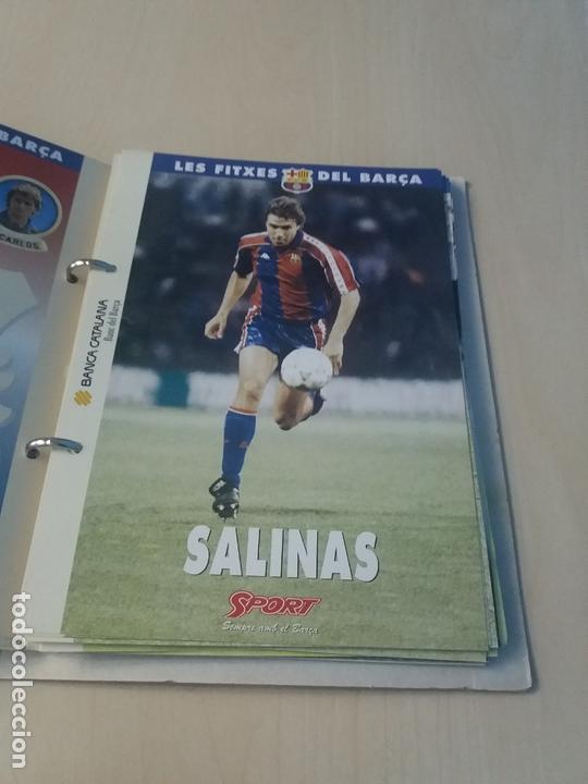 Coleccionismo deportivo: LES FITXES DEL BARÇA COMPLETO 39 FITXES - SPORT - CATALAN - Foto 11 - 171668682