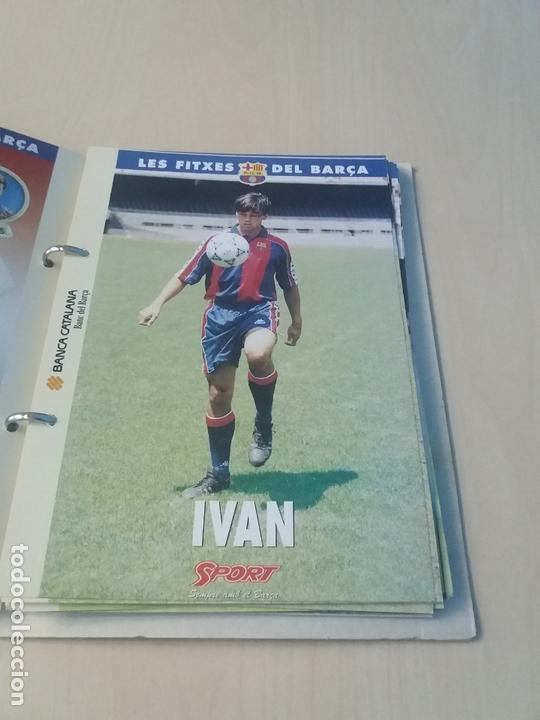 Coleccionismo deportivo: LES FITXES DEL BARÇA COMPLETO 39 FITXES - SPORT - CATALAN - Foto 12 - 171668682