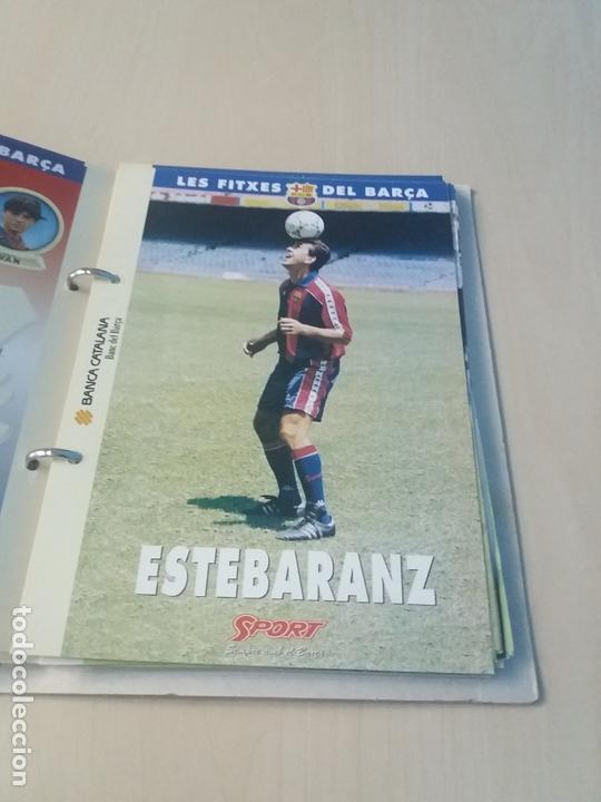 Coleccionismo deportivo: LES FITXES DEL BARÇA COMPLETO 39 FITXES - SPORT - CATALAN - Foto 13 - 171668682