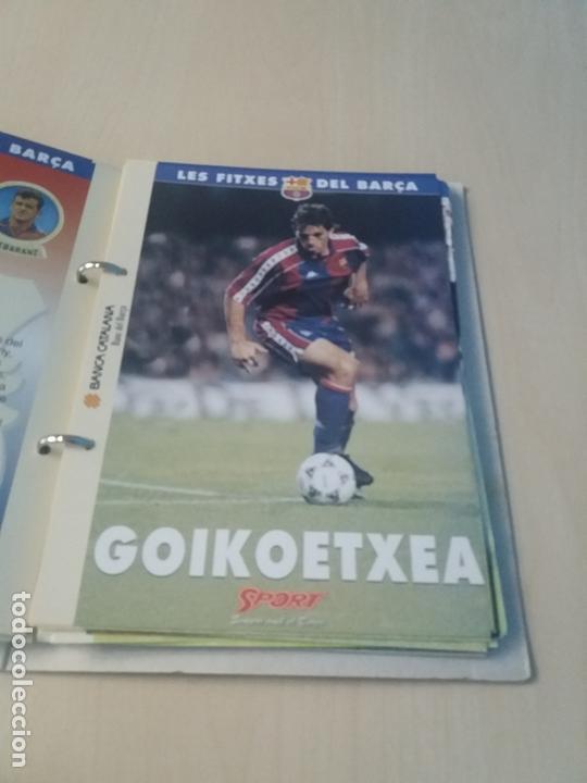 Coleccionismo deportivo: LES FITXES DEL BARÇA COMPLETO 39 FITXES - SPORT - CATALAN - Foto 14 - 171668682