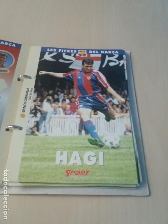 Coleccionismo deportivo: LES FITXES DEL BARÇA COMPLETO 39 FITXES - SPORT - CATALAN - Foto 16 - 171668682