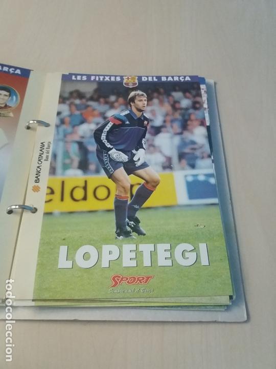 Coleccionismo deportivo: LES FITXES DEL BARÇA COMPLETO 39 FITXES - SPORT - CATALAN - Foto 17 - 171668682