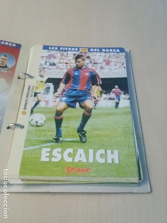 Coleccionismo deportivo: LES FITXES DEL BARÇA COMPLETO 39 FITXES - SPORT - CATALAN - Foto 18 - 171668682