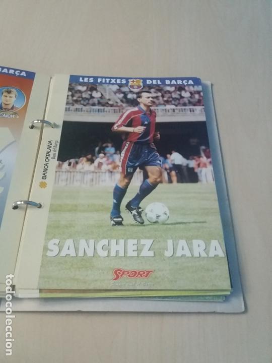 Coleccionismo deportivo: LES FITXES DEL BARÇA COMPLETO 39 FITXES - SPORT - CATALAN - Foto 19 - 171668682