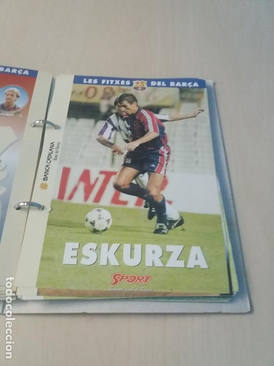 Coleccionismo deportivo: LES FITXES DEL BARÇA COMPLETO 39 FITXES - SPORT - CATALAN - Foto 21 - 171668682
