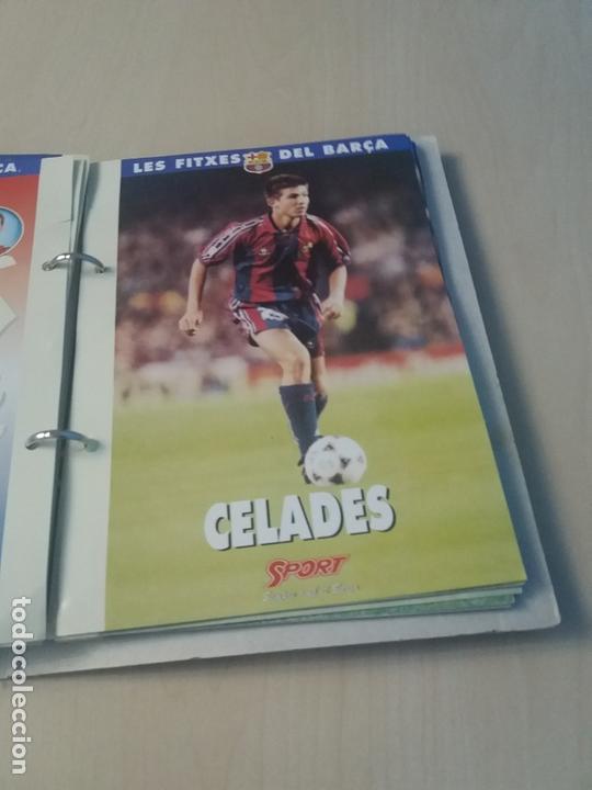 Coleccionismo deportivo: LES FITXES DEL BARÇA COMPLETO 39 FITXES - SPORT - CATALAN - Foto 25 - 171668682