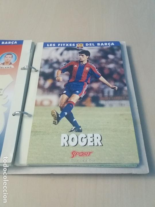 Coleccionismo deportivo: LES FITXES DEL BARÇA COMPLETO 39 FITXES - SPORT - CATALAN - Foto 26 - 171668682