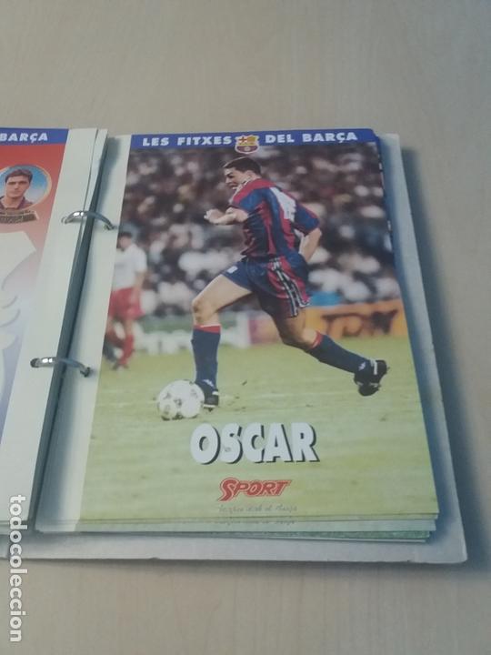 Coleccionismo deportivo: LES FITXES DEL BARÇA COMPLETO 39 FITXES - SPORT - CATALAN - Foto 27 - 171668682
