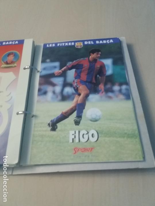 Coleccionismo deportivo: LES FITXES DEL BARÇA COMPLETO 39 FITXES - SPORT - CATALAN - Foto 31 - 171668682