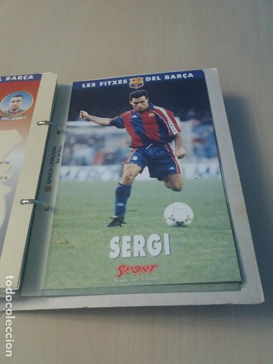 Coleccionismo deportivo: LES FITXES DEL BARÇA COMPLETO 39 FITXES - SPORT - CATALAN - Foto 34 - 171668682