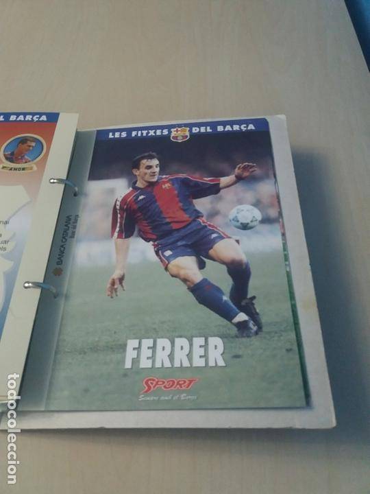Coleccionismo deportivo: LES FITXES DEL BARÇA COMPLETO 39 FITXES - SPORT - CATALAN - Foto 36 - 171668682