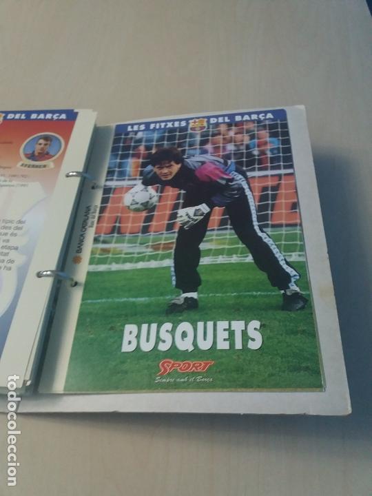 Coleccionismo deportivo: LES FITXES DEL BARÇA COMPLETO 39 FITXES - SPORT - CATALAN - Foto 37 - 171668682