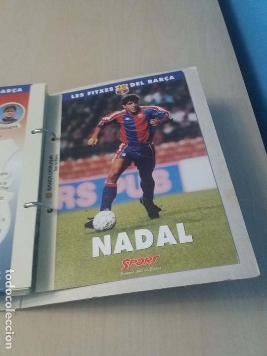 Coleccionismo deportivo: LES FITXES DEL BARÇA COMPLETO 39 FITXES - SPORT - CATALAN - Foto 38 - 171668682
