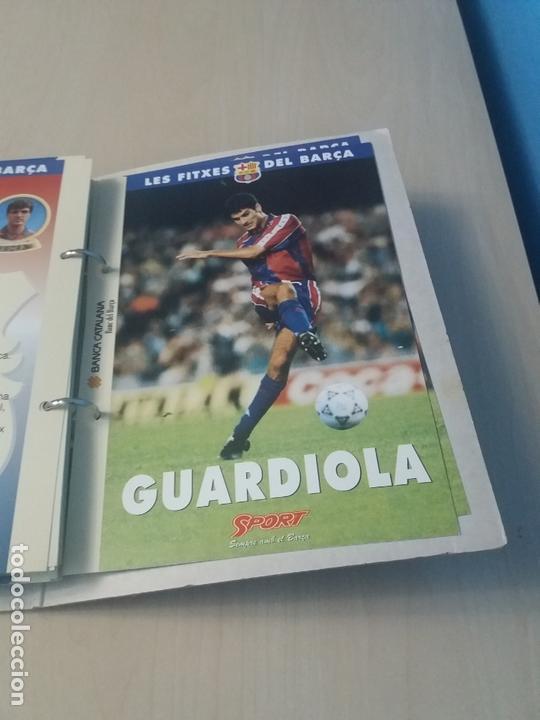 Coleccionismo deportivo: LES FITXES DEL BARÇA COMPLETO 39 FITXES - SPORT - CATALAN - Foto 39 - 171668682
