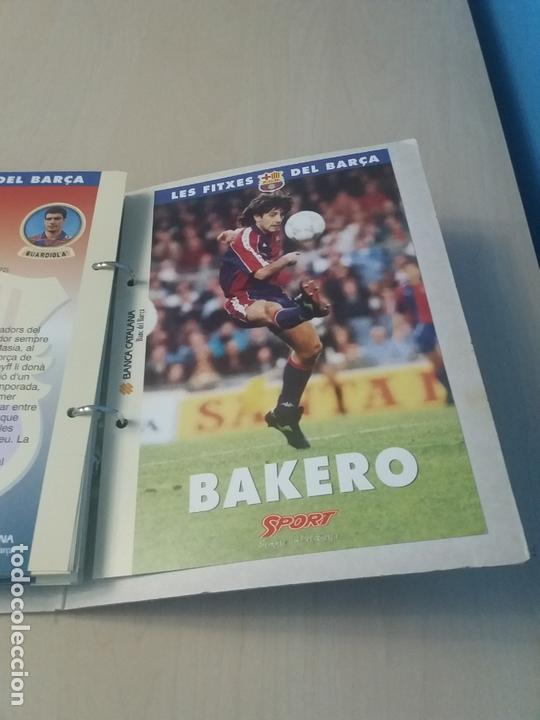 Coleccionismo deportivo: LES FITXES DEL BARÇA COMPLETO 39 FITXES - SPORT - CATALAN - Foto 40 - 171668682