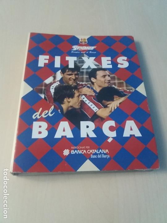 LES FITXES DEL BARÇA COMPLETO 39 FITXES - SPORT - CATALAN (Coleccionismo Deportivo - Revistas y Periódicos - Sport)