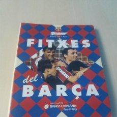 Coleccionismo deportivo: LES FITXES DEL BARÇA COMPLETO 39 FITXES - SPORT - CATALAN. Lote 171668682