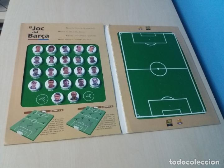 Coleccionismo deportivo: EL JUEGO DEL BARCELONA - EL JOC DEL BARCA - MUNDO DEPORTIVO - COMPLETO - LEER ANUNUCIO - Foto 2 - 171675304