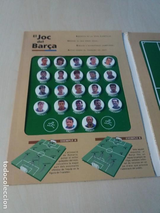 Coleccionismo deportivo: EL JUEGO DEL BARCELONA - EL JOC DEL BARCA - MUNDO DEPORTIVO - COMPLETO - LEER ANUNUCIO - Foto 3 - 171675304