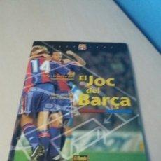 Coleccionismo deportivo: EL JUEGO DEL BARCELONA - EL JOC DEL BARCA - MUNDO DEPORTIVO - COMPLETO - LEER ANUNUCIO . Lote 171675304