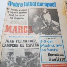 Coleccionismo deportivo: PERIÓDICO ANTIGUO MARCA NÚMERO 11962 AÑO 1980 ESCASO. Lote 171726375