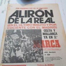 Coleccionismo deportivo: PERIÓDICO ANTIGUO MARCA NÚMERO 12223 DE 27 DE ABRIL DE 1981 ESCASO. Lote 171726389