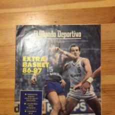 Colecionismo desportivo: EL MUNDO DEPORTIVO EXTRA BASKET 86 87. Lote 171770710