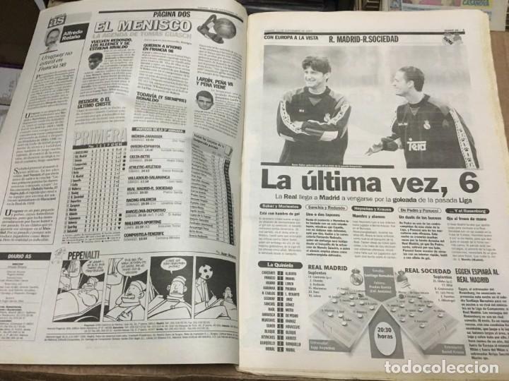 Coleccionismo deportivo: AS (13-9-1997) REAL MADRID REAL SOCIEDAD ATHLETIC ATLETICO MADRID BARCELONA DEPORTIVO RIVALDO - Foto 2 - 171929152