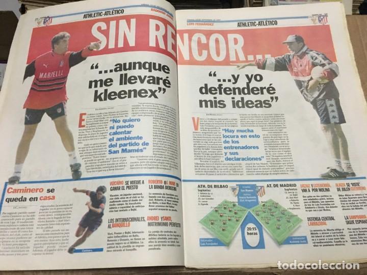 Coleccionismo deportivo: AS (13-9-1997) REAL MADRID REAL SOCIEDAD ATHLETIC ATLETICO MADRID BARCELONA DEPORTIVO RIVALDO - Foto 3 - 171929152