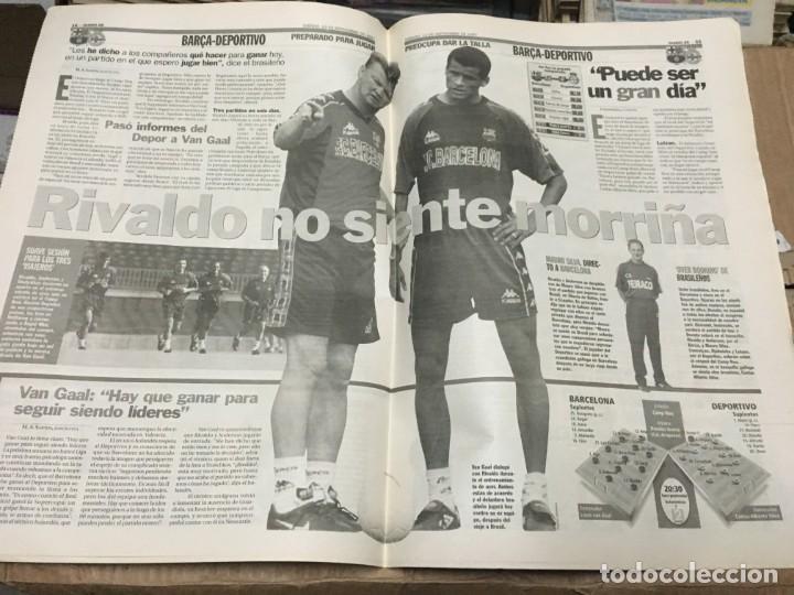 Coleccionismo deportivo: AS (13-9-1997) REAL MADRID REAL SOCIEDAD ATHLETIC ATLETICO MADRID BARCELONA DEPORTIVO RIVALDO - Foto 4 - 171929152