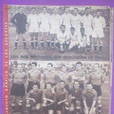 Coleccionismo deportivo: PERIODICO DEPORTES MARCA, NUMERO ESPECIAL, REAL MADRID CAMPEON DE COPA, 1945. Lote 171981120