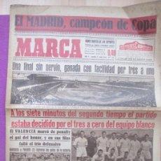 Colecionismo desportivo: PERIODICO MARCA, FUTBOL, EL REAL MADRID CAMPEON DE COPA, 1946, Nº 1103. Lote 171987198