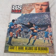 Coleccionismo deportivo: REVISTA AS COLOR N 38 8 FEBRERO 1972 IRIBAR IRURETA ZOCO MIGUEL ANGEL UWE SEELER POSTER KUBALA. Lote 172139070