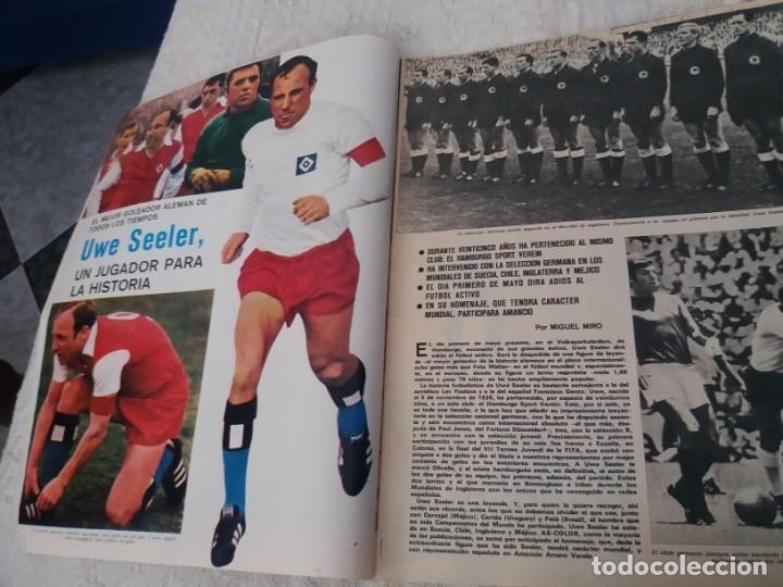 Coleccionismo deportivo: REVISTA AS COLOR N 38 8 FEBRERO 1972 IRIBAR IRURETA ZOCO MIGUEL ANGEL UWE SEELER POSTER KUBALA - Foto 2 - 172139070