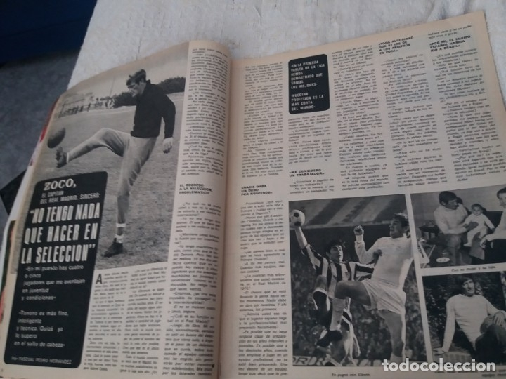 Coleccionismo deportivo: REVISTA AS COLOR N 38 8 FEBRERO 1972 IRIBAR IRURETA ZOCO MIGUEL ANGEL UWE SEELER POSTER KUBALA - Foto 3 - 172139070