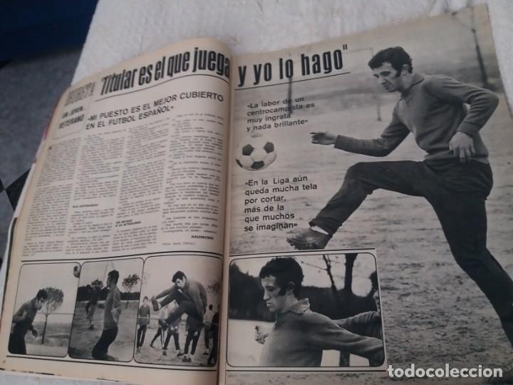 Coleccionismo deportivo: REVISTA AS COLOR N 38 8 FEBRERO 1972 IRIBAR IRURETA ZOCO MIGUEL ANGEL UWE SEELER POSTER KUBALA - Foto 4 - 172139070