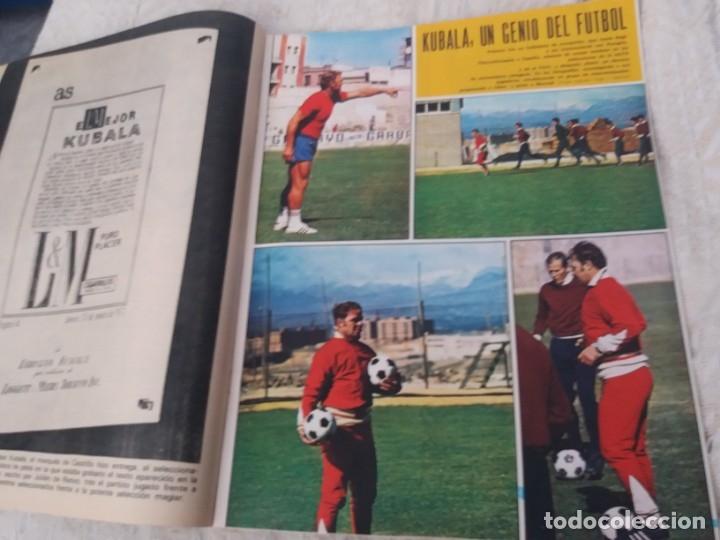 Coleccionismo deportivo: REVISTA AS COLOR N 38 8 FEBRERO 1972 IRIBAR IRURETA ZOCO MIGUEL ANGEL UWE SEELER POSTER KUBALA - Foto 6 - 172139070