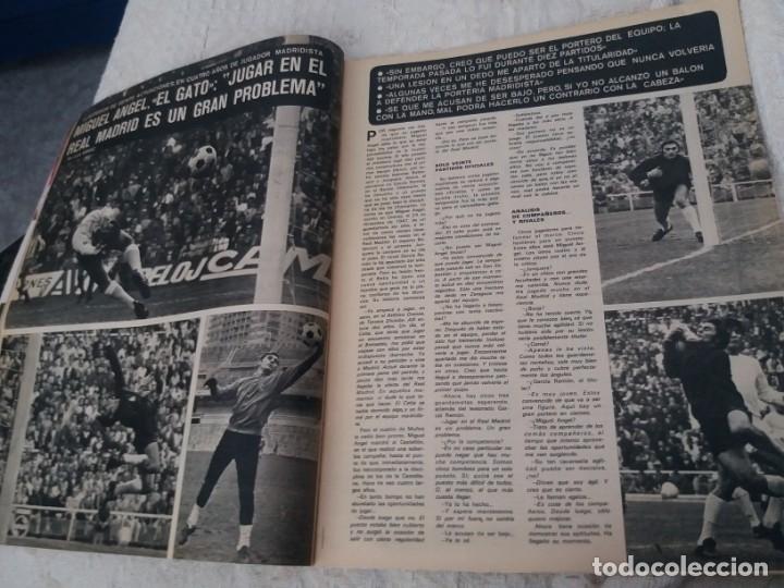 Coleccionismo deportivo: REVISTA AS COLOR N 38 8 FEBRERO 1972 IRIBAR IRURETA ZOCO MIGUEL ANGEL UWE SEELER POSTER KUBALA - Foto 9 - 172139070