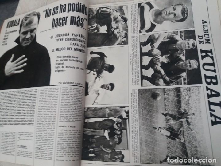 Coleccionismo deportivo: REVISTA AS COLOR N 38 8 FEBRERO 1972 IRIBAR IRURETA ZOCO MIGUEL ANGEL UWE SEELER POSTER KUBALA - Foto 11 - 172139070