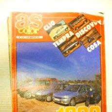 Coleccionismo deportivo: LOTE DE 46 REVISTAS AS COLOR AÑO 1991. Lote 172160024