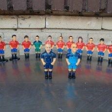 Coleccionismo deportivo: MUÑECOS-LOTE DE 21 SELECCIÓN ESPAÑOLA DE FÚTBOL PROYECTUMSPORT-NINGUNO REPETIDO. Lote 172360794
