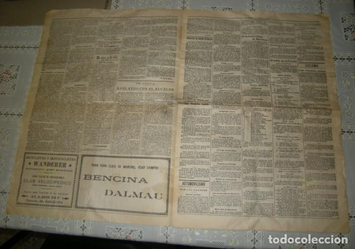 Coleccionismo deportivo: EL MUNDO DEPORTIVO. FASCIMIL DEL NUMERO 1 DEL AÑO 1906. - Foto 2 - 172372577
