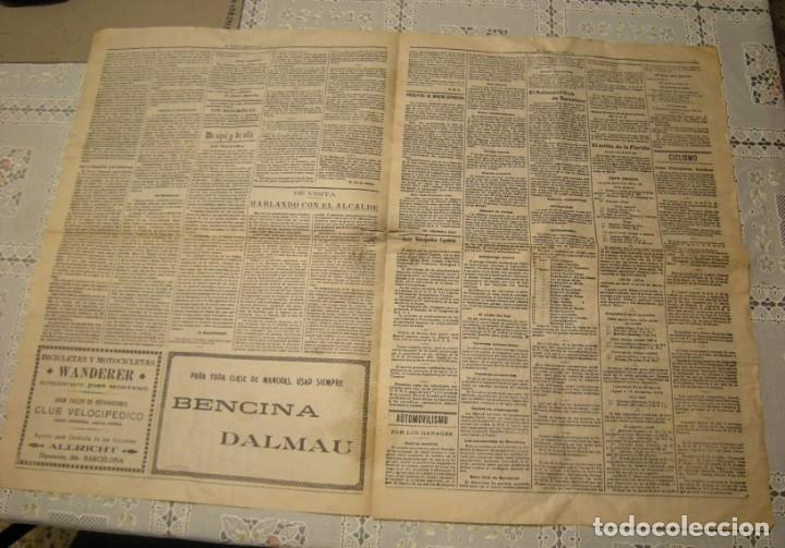 Coleccionismo deportivo: EL MUNDO DEPORTIVO. FASCIMIL DEL NUMERO 1 DEL AÑO 1906. - Foto 3 - 172372577